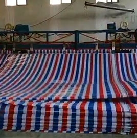 Advanced color striped cloth